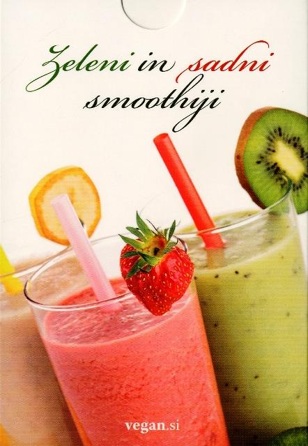 Zeleni in sadni smoothiji