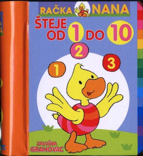 Račka nana šteje od 1 do 10