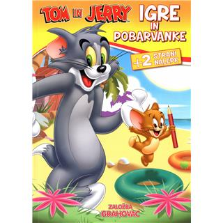 Tom in Jerry: Igre in pobarvanka