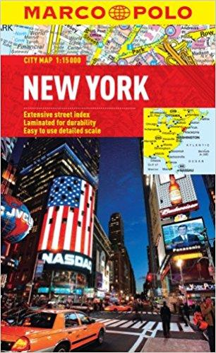 New York - mestna karta, 1:15.000
