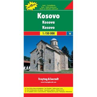 Kosovo 1:150.000 (Top 10 znamenitosti)
