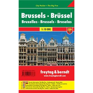 Bruselj 1:10 000.(City Pocket)